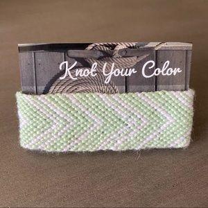 Yarn Cuff Bracelets